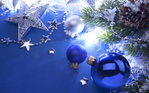 Christmas Decoration Wallpaper Ornament