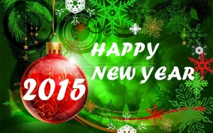 Colorful Happy New Year 2015 Gif Wallpaper