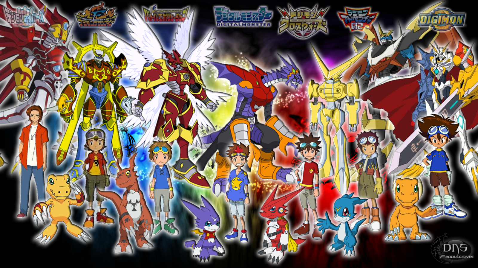 Digimon Wallpaper Desktop 9324 Wallpaper WallDiskPaper