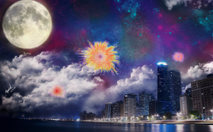 Fantasy Fireworks Wallpapers HD