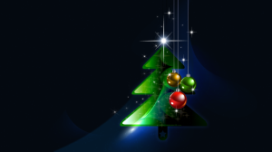 Happy New Year Merry Christmas Wallpaper