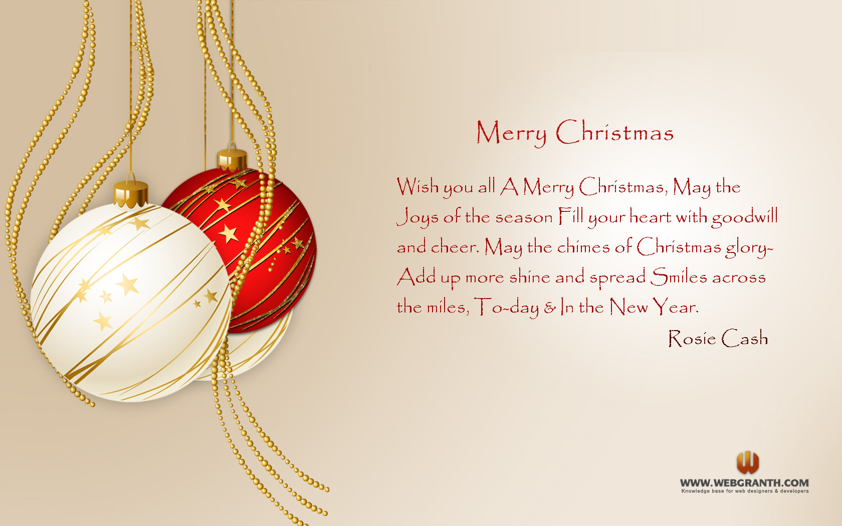 Merry Christmas Quotes Wallpaper Free Download