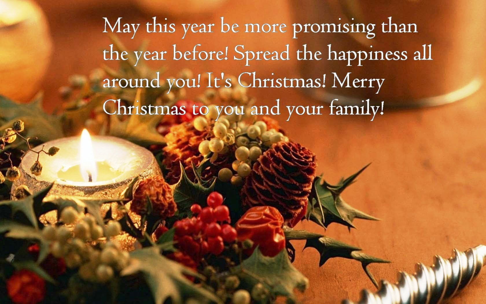 Merry Christmas Wallpaper Quotes HD
