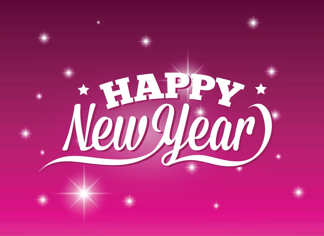 Purple New Year 2015 Wallpapers