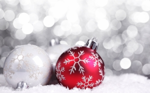 Red Ornament Wallpaper Free Download Christmas