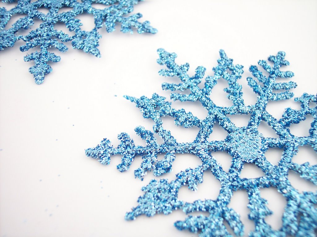 Snowflake Christmas Wallpaper