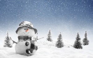 Snowman Wallpaper Android Merry Christmas