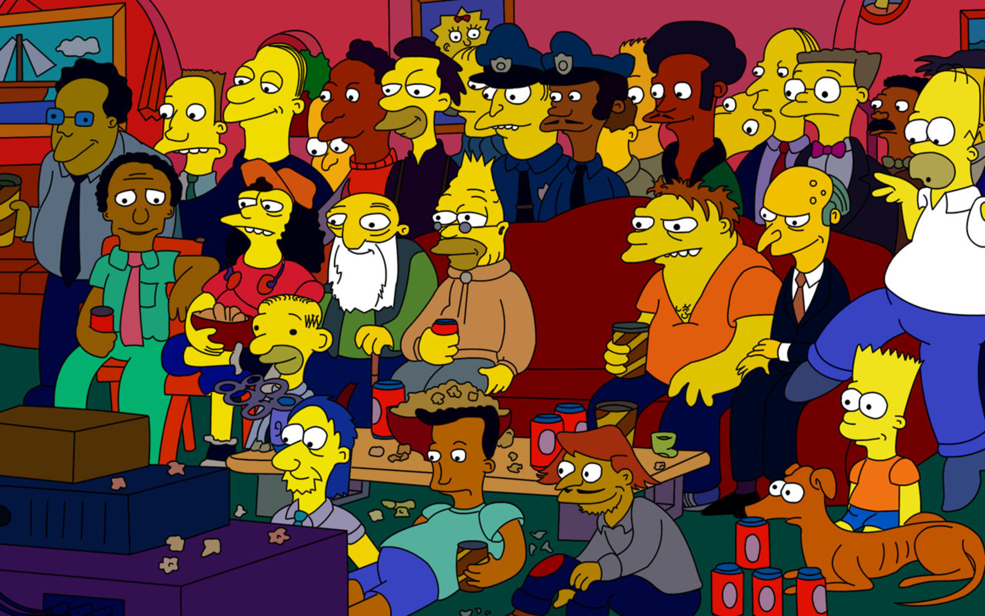 The Simpsons Wallpaper PC Computer