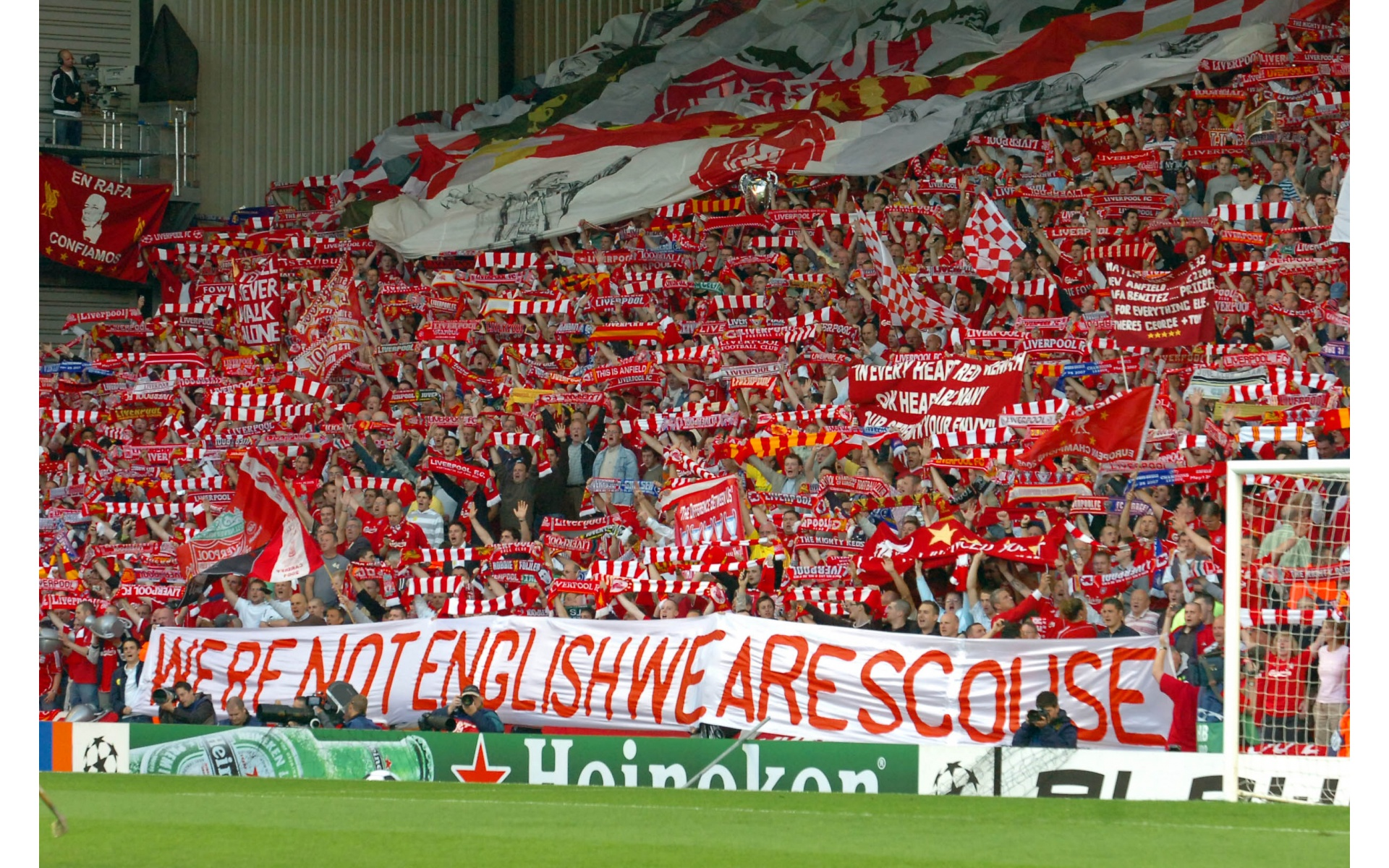 The Cops Liverpool Wallpaper Supporter