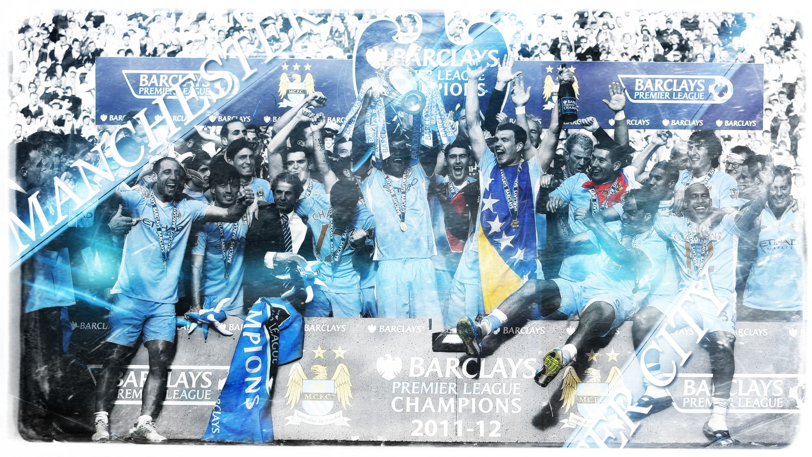 Winner Champions Manchester City Wallpaper Walldiskpaper