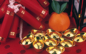 Happy Chinese New Years Decoration Wallpaper