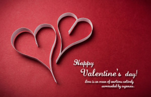 Valentine Days Quotes Beautiful Wallpaper