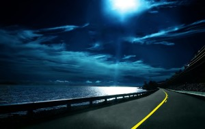 Cool Road Night Wallpapers HD