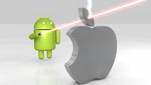 Android Vs Apple Hd Wallpaper 1080p