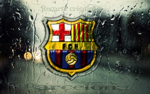 Barcelona Logo Wallpaper Wide