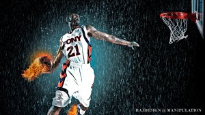 Basketballs Spirits Sports Wallpaper