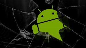 Broken Glass Android Background