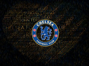 Chelsea Text Wallpaper