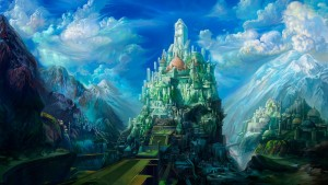 Fantasy Castle Wallpaper
