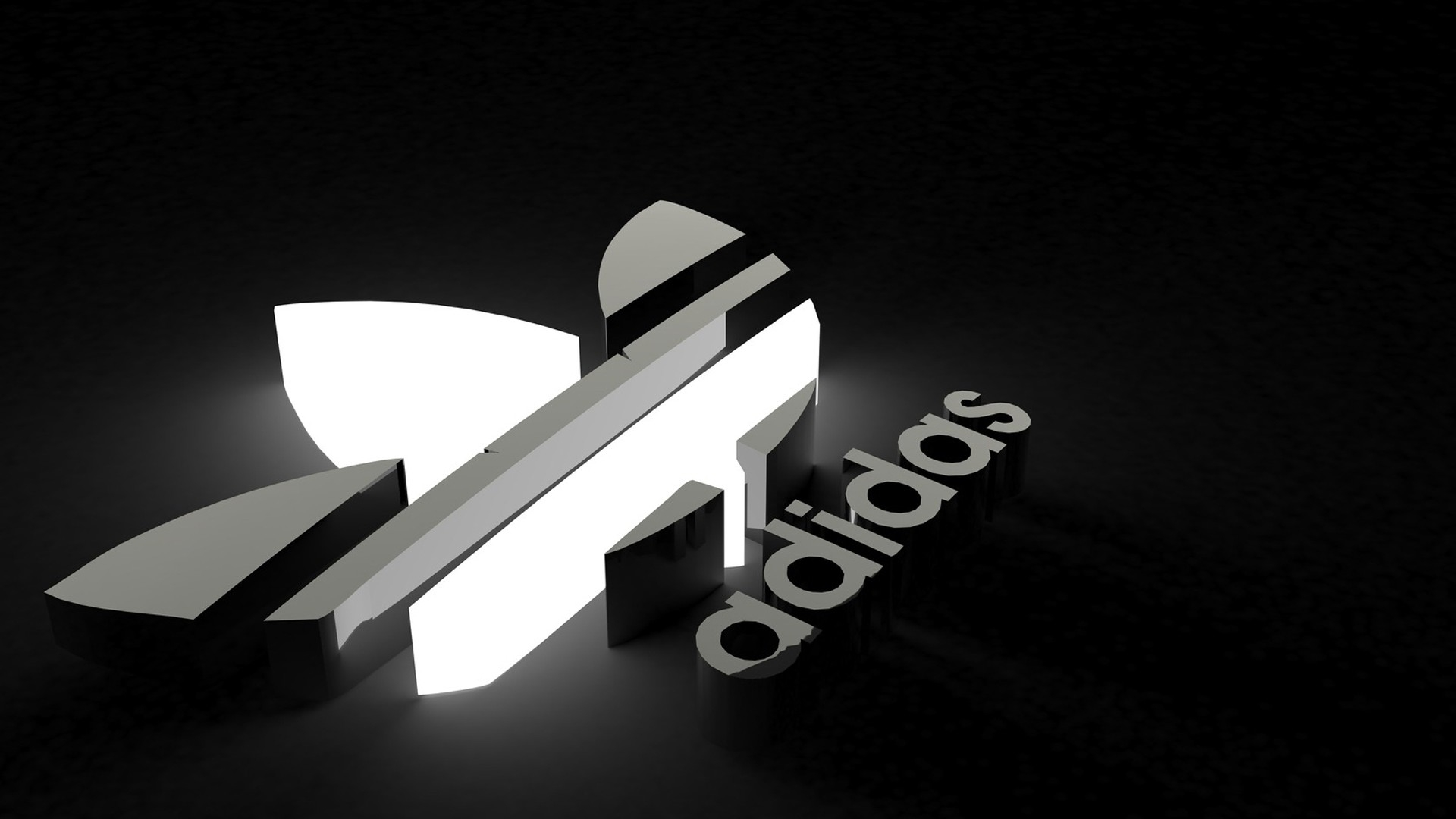 Logo Adidas 3D Sports Wallpapers #15577 Wallpaper | WallDiskPaper