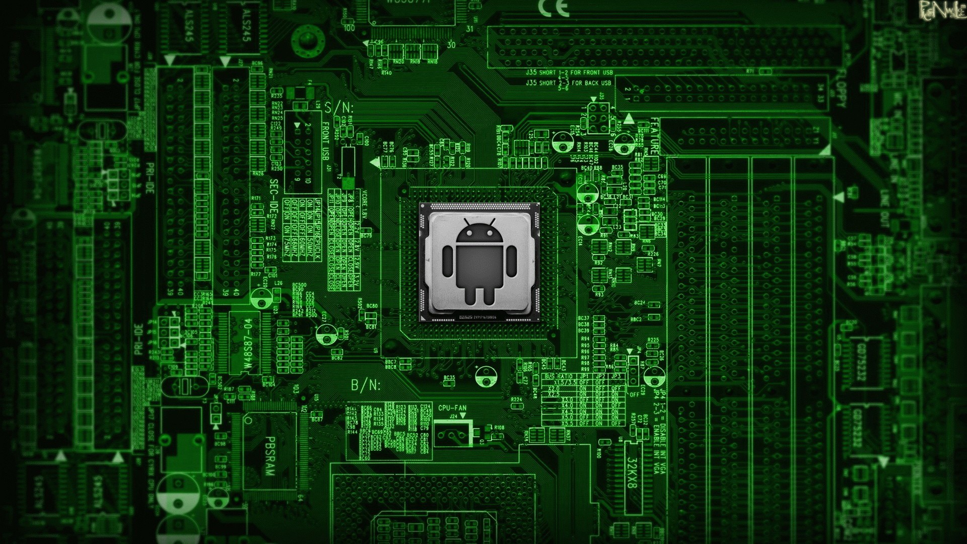 Logo Android Processor Image