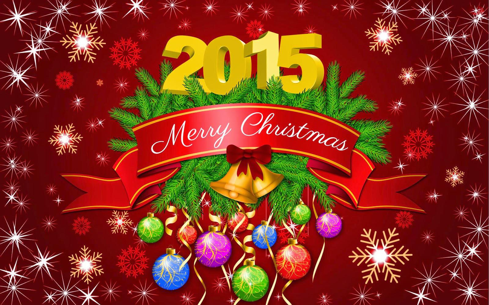 Merry Christmas Decoration 2015 Wallpaper