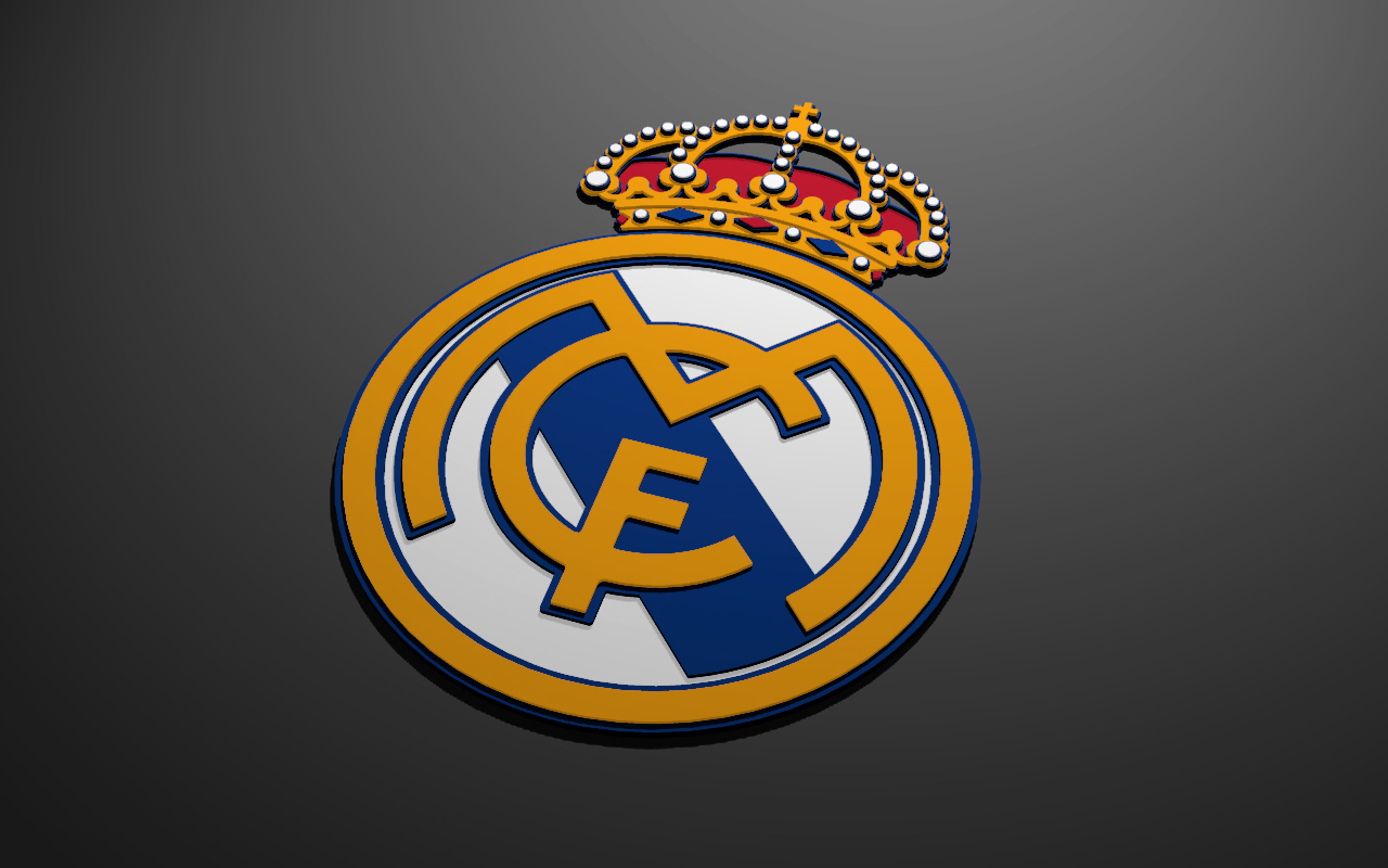 Real Madrid 3d Logo Hd Wallpaper
