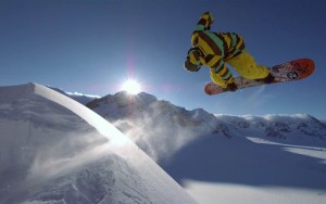Snowboarding Jumping Sports Picture