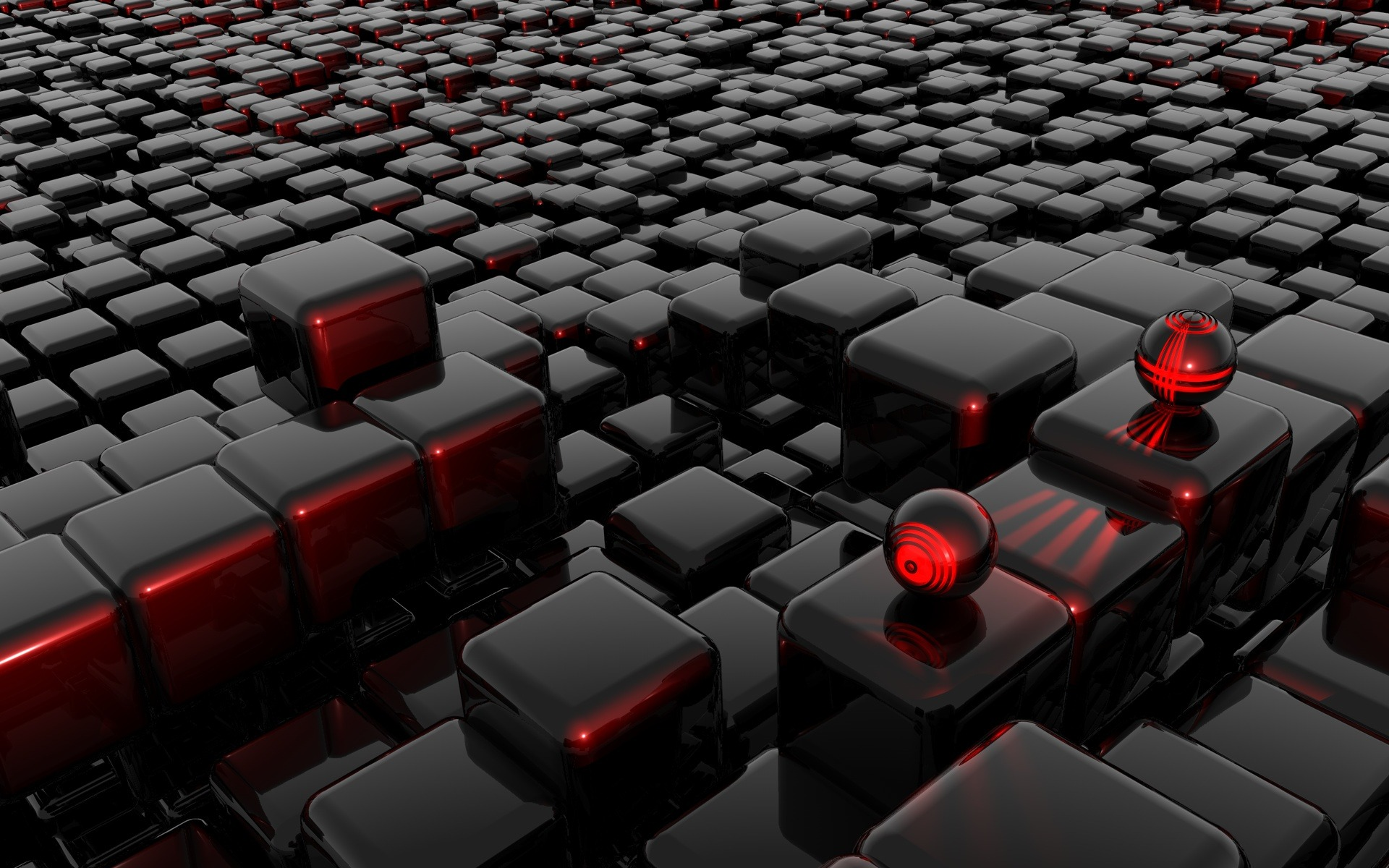 Cube Abstract Wallpaper