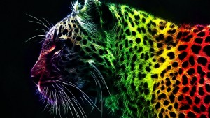 Lion Abstract Wallpaper